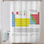 Periodic-Table-Shower-Curtain-Colourful-Clear-Print-Includes-Hooks-M-amp-W miniature 4