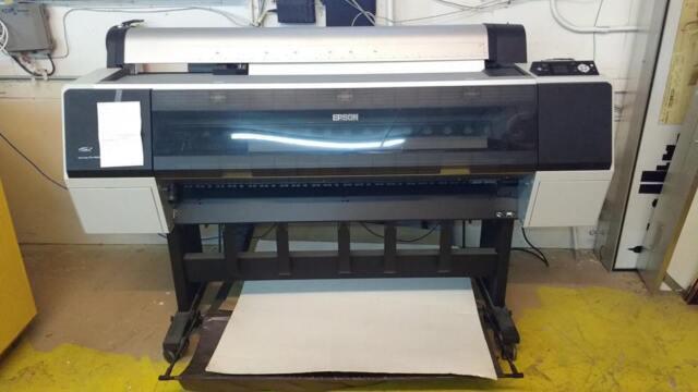 epson stylus pro 9900 large format 44 color inkjet printer ebay