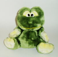Snuggie Toy Dgr Corp Green Soft Plush Hand Puppet Frog Stuffed Animal Toy