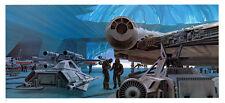 STAR WARS MCQUARRIE EMPIRE - 50 X 15 CM - ILLUSTRATION N°07 PORTFOLIO - VINTAGE