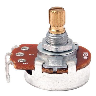 5x b250k push pull guitar control potentiometer tone volume pot ... push pull b250k potentiometer wiring diagram push pull coil split wiring ebay