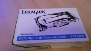 TONER-LEXMARK-C510-20K1400-CYAN