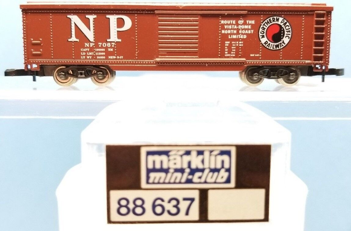 Escala Z Marklin Mini-club 88637 NP 50' Caja Auto