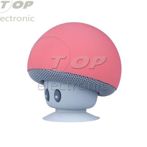 Waterproof Small Mushroom Wireless Speaker Bluetooth Audio Receiver