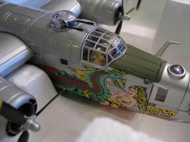 Corgi - Consolidated B-24J Liberator 'The Dragon And His Tail' 64th BS AA34001