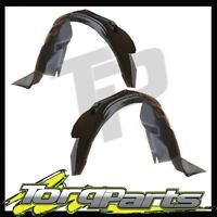 Pair Fr Suit Ford Ba Bf Falcon Inner Guard Liner Mud Shield Xt Xr6 Xr8 Turbo