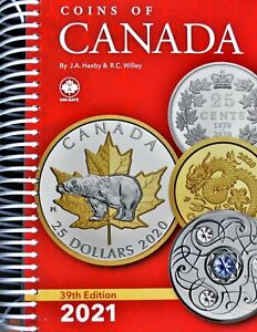 2021 Coins of Canada 39th Edition, Haxby & Willey