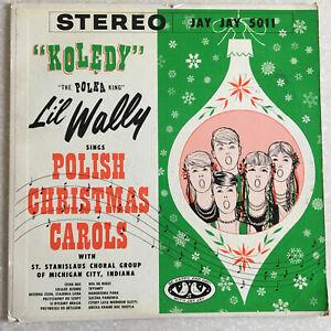Holiday-Koledy-Lil-Wally-Sings-Polish-Christmas-Carols-33-RPM-Lp-Vinyl-Record