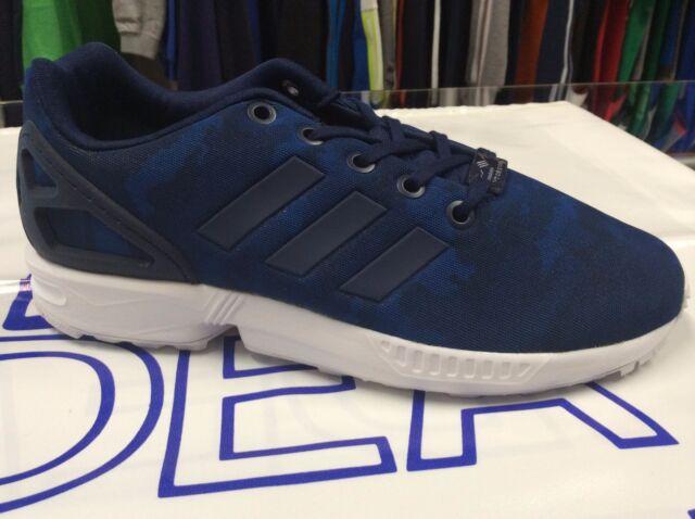 f1c84ada0c64a adidas ZX Flux C Mimetic Baby Sports Shoe Ortholite BB2426 30 Blue ...