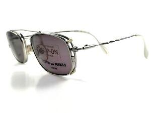 MIKLI-par-MIKLI-Brille-6701-1600-Vintage-Eye-Frame-Clip-On-Sunglasses-Lunettes