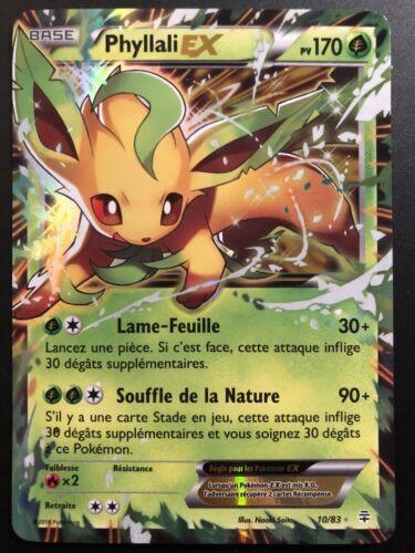 Carte Pokemon PHYLLALI 10//83 EX XY GENERATIONS FR NEUF