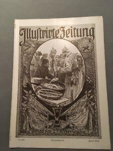 """""""illustrirte Zeitung"""" 81 17.02.1916 Verlag J GroßZüGig Weber Kriegsnr J"""