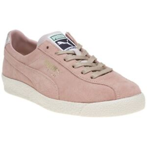 competitive price a9022 6e9cf Details about New WOMENS PUMA PINK TE-KU SUEDE Sneakers Court