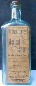 SCARCE-AQUA-RODOLF-039-S-NEW-MEDICAL-DISCOVERY-BELFAST-MAINE-U-S-A