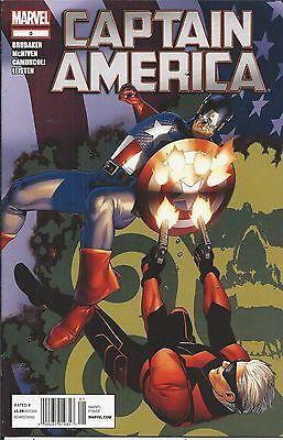 Captain America comic issue 5 Marvel Modern age First print Brubaker McNiven
