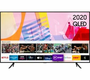 "SAMSUNG QE58Q60TAUXXU 58"" Smart 4K Ultra HD HDR QLED TV Alexa & Google Assistant"
