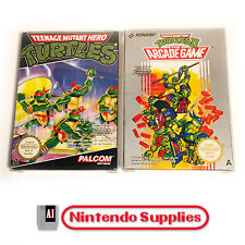 Turtles 1 + 2 Collectors Set - Nintendo NES VGC Complete. Make an offer