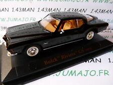 voiture 1/43 ROAD SIGNATURE : BUICK Riviera GS 1971 noir