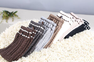 Knöchel Stulpen Socken Stiefel Details Häkel Leggings Damen Zu Knopf Beinwärmer Geschenke 8wOP0kn