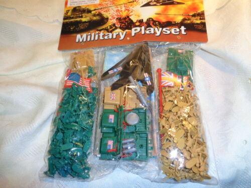 340 Teile OVP Plastik Soldaten 25 mm Fahne Militär Amerika England 1 72  ca