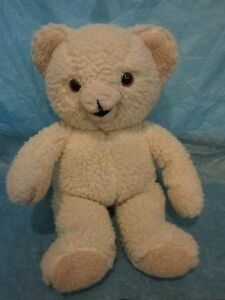 Russ-Berrie-amp-Co-Snuggle-Bear-1986-Lever-Brothers-Company-Missing-Nose-Cuddle