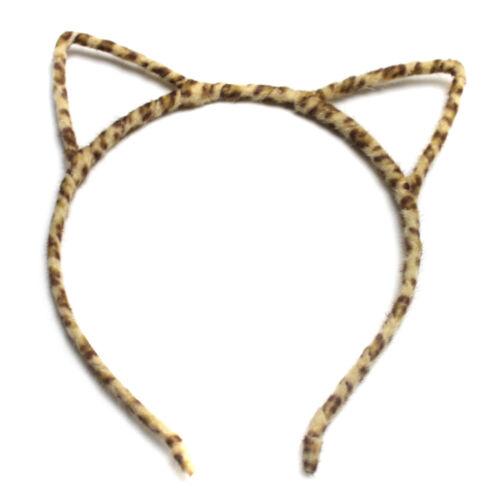 Alice Band Cat Ear Headband Fluffy Women Hair Accessories Design Party Felt Wire