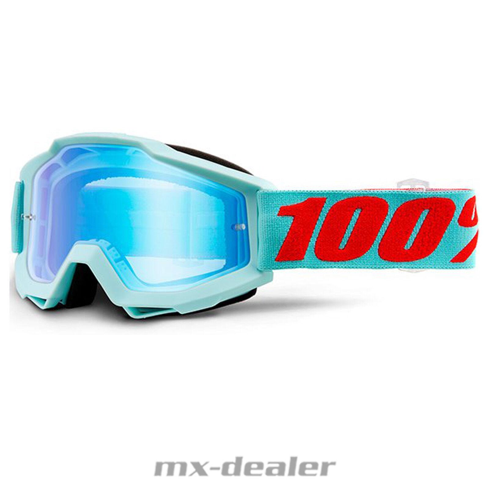 2019 100 % Prozent Prozent Prozent Accuri Maldives verspiegelt MX Motocross Crossbrille BMX MTB f6ebf4