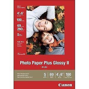 Canon Photo Paper Plus Glossy Ii 4 X 6 Inch 100 Sheets 2311b023 Ebay