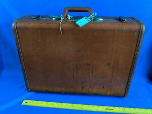 Samsonite-Streamlite-21-034-Overnight-Suitcase-Hard-Shell-VTG-Shwayder-Brown