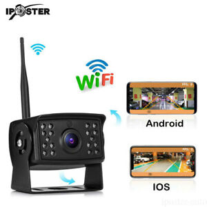Wireless-Reversing-Camera-Wifi-Camera-For-Truck-RV-Trailer-iOS-amp-Android-Phone