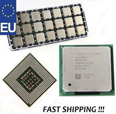 CPU Intel Pentium 4 Hyper Treading 2.8GHz 512KB FSB 800MHz Socket 478