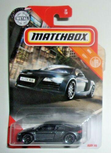Matchbox Audi R8 #029 MBX City Dark Gray VHTF!!