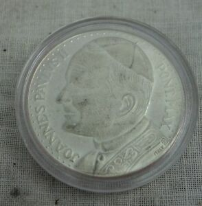 Medaille Papst Johannes Paulus Ii Anno Santo 1983 Pax Ebay