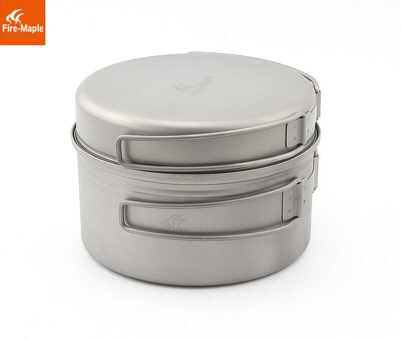 Fire Maple Titanium Pot Ultra-light Outdoor  Camping Pot Frying Pan Special Offer  buy cheap new