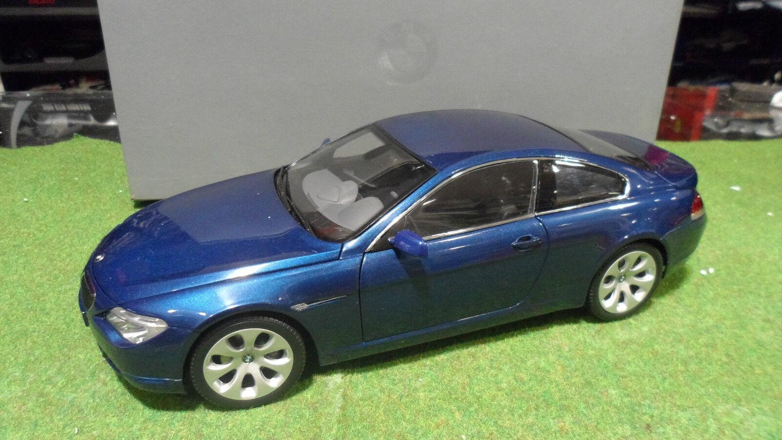 BMW Série 6 Coupé blu 1 18    KYOSHO Btq 80430153284 voiture miniature collection 20200f