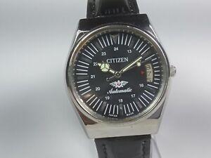 Vintage-Citizen-Automatic-Movement-Date-Dial-Mens-Analog-Wrist-Watch-AC107