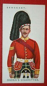 SEAFORTH HIGHLANDERS    Original 1909 Vintage Card