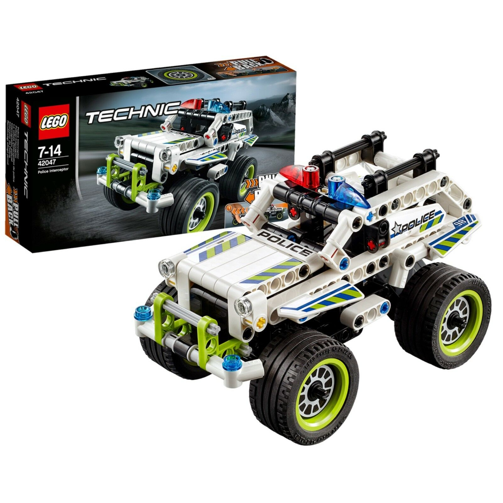 LEGO Technic (42047) Police Interceptor (Brand New & Factory Sealed)