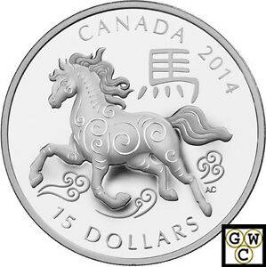 2014-039-Year-of-the-Horse-039-Type-2-Round-15-Silver-Coin-9999-Fine-NT-13264