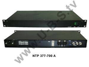 Shop For Cheap Ntp 377-700 A Video Production & Editing Stereo Video Ppm Other Consumer Electronics