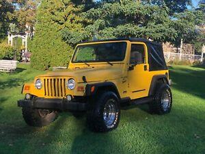 2001 Jeep TJ Sport