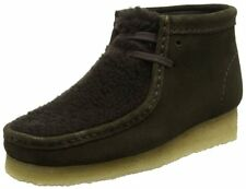 217dc11bde3dad Clarks Originals Womens Wallabee Boot Ankle Boots Brown in Peat Suede - 7.5  UK