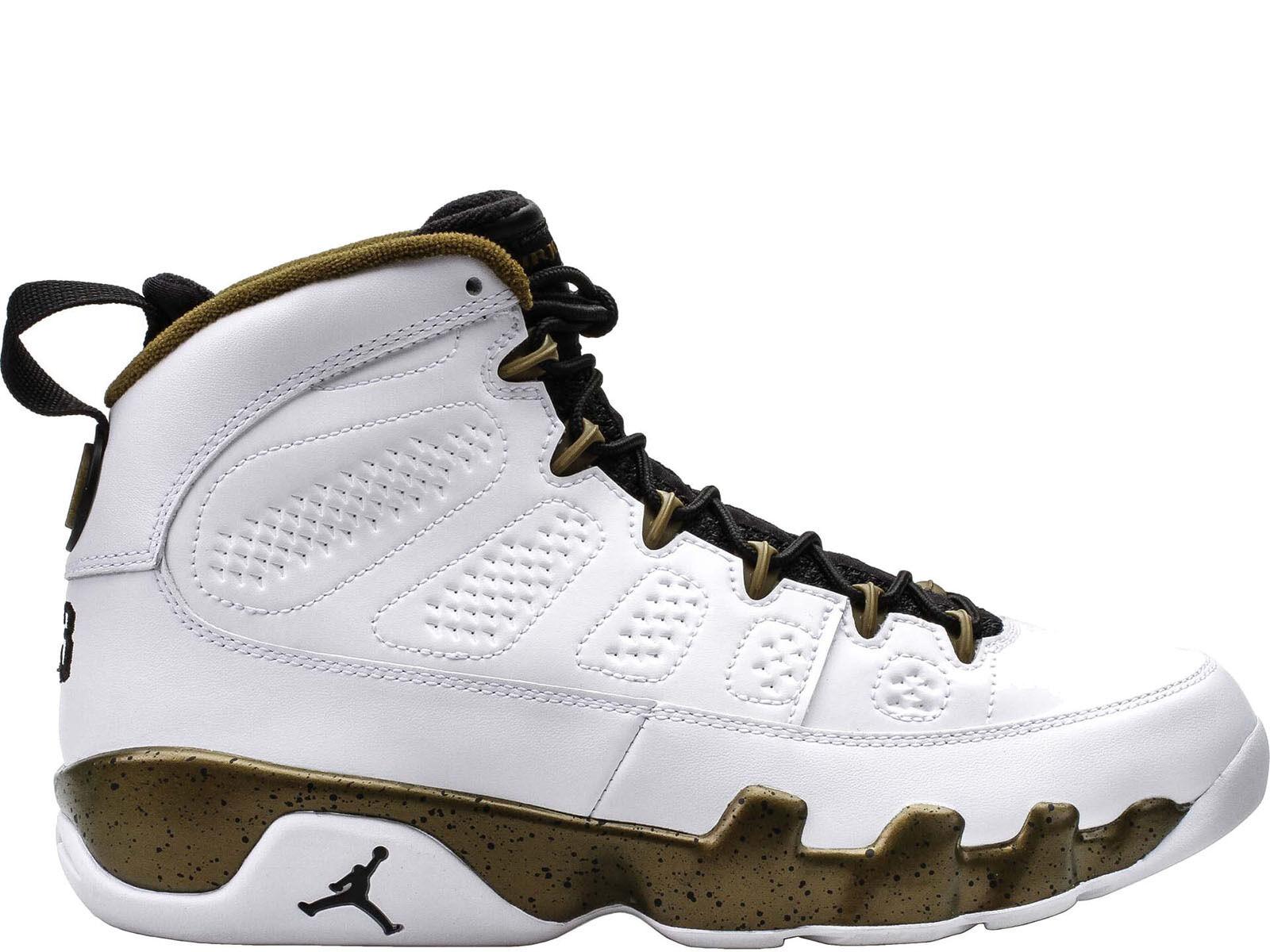 Men's Brand New Air Jordan 9 Retro  Statues  Athletic Sneakers
