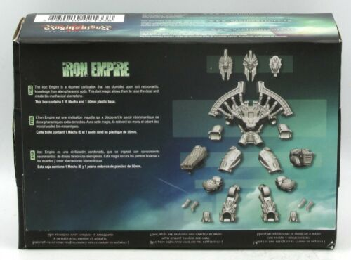 Battle Walker Necromantic Spirit Mech Raging Heroes 21338 Iron Empire Mecha