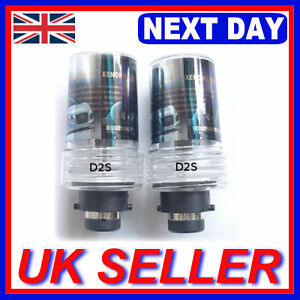 D2S 5000K HID Xenon Light 2 Replacement Bulbs Set 5K