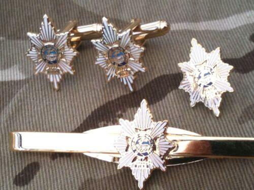 clip de corbata Militar Set De Regalo insignia Worcestershire /& Sherwood silvicultores Gemelos