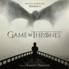 RAMIN DJAWADI - GAME OF THRONES (MUSIC FROM THE HBO-SERIES-VOL.5)  CD NEU