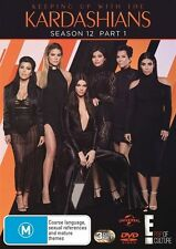 Keeping Up With The Kardashians : Season 12 : Part 1 (DVD, 3-Disc Set) NEW
