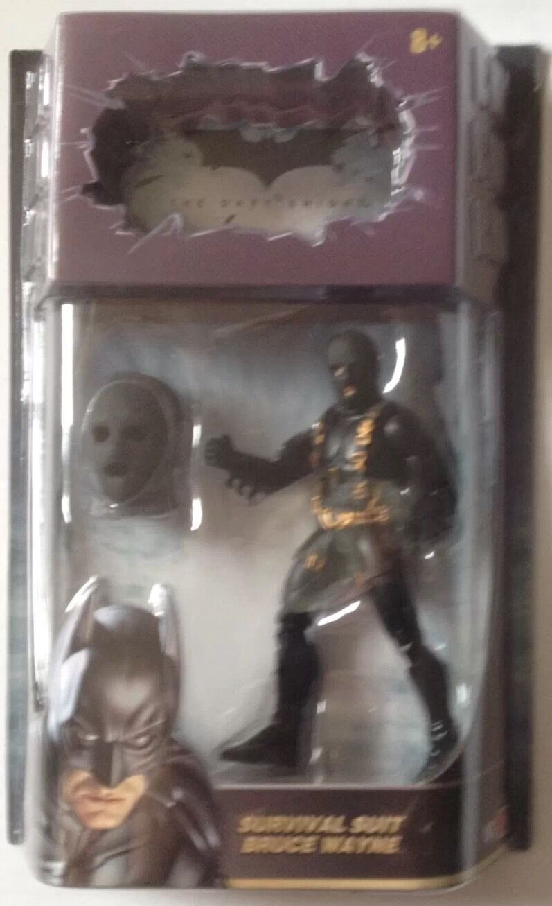 BATMAN THE DARK KNIGHT Action Figure Of SURVIVAL SUIT BRUCE WAYNE From ToysRus