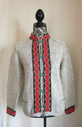 Brothers Sweater M Multi Cardigan Wool Brooks Denmark Kvinders Medium Color 7wAqxOaZ